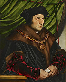 Sir Thomas More, by Hans Holbein the Younger, 1527