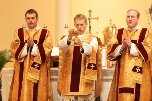 Fr Barone First Mass