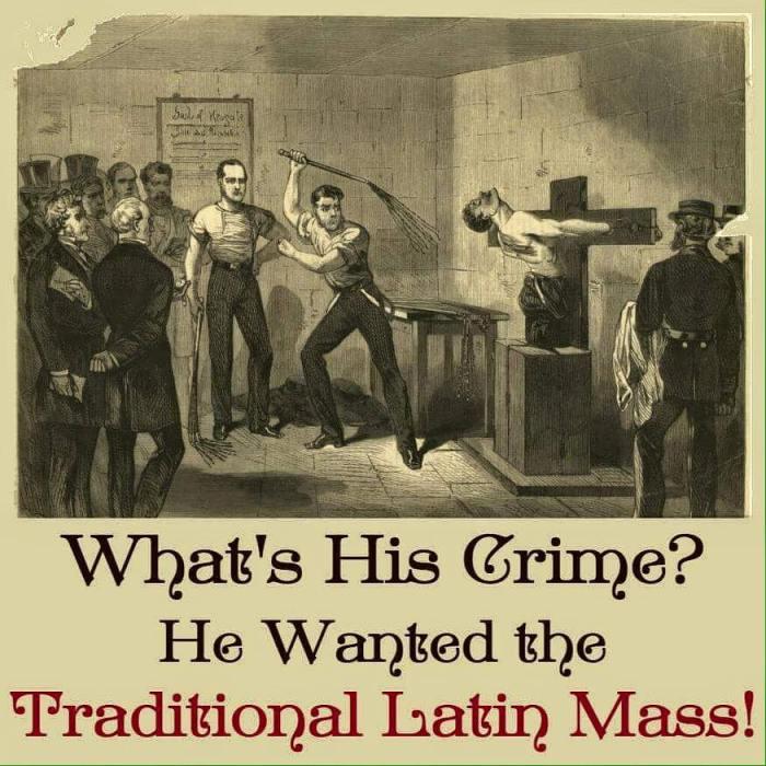 Latin Mass Meme